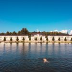 Karlberg Palace, Stockholm (and a swimmer..)