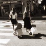 Young women in Stockholm…
